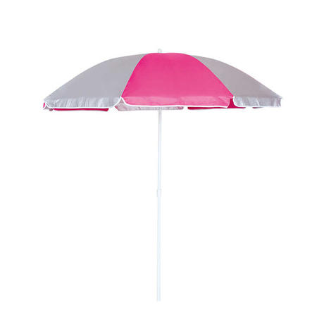 HYB1812 Beach Umbrella with UV Coating Solid color